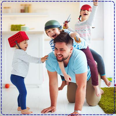 מה עושים עם הילדים בבית?